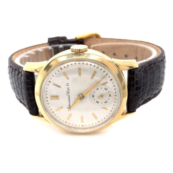 Vintage International Watch Co. (IWC) 14K yellow gold 1950s Watch. Recently serviced. Cal 88, Mint!